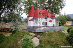 Park Miniatur w Kowarach - dom Hauptmanna