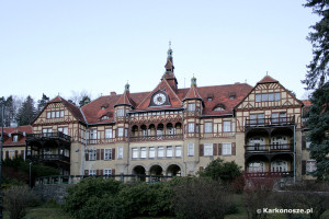 Kowary atrakcje - Szpital Wysoka Łąka