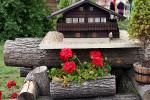 Park Miniatur w Kowarach - schronisko Szwajcarka