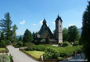 Kowary okolica - Kościół Wang w Karpaczu